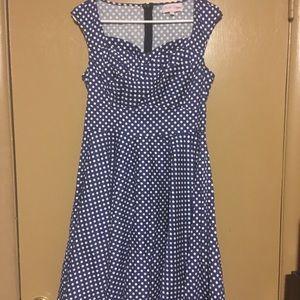 Dresses & Skirts - Belle porque pin up style Dress